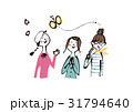 春の女性たち 31794640