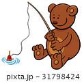 くま クマ 熊のイラスト 31798424