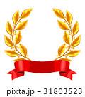 ローレル 月桂樹 リースのイラスト 31803523