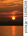 夕陽 海 日没の写真 31806206