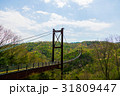 星のブランコ ほしだ園地 吊り橋の写真 31809447