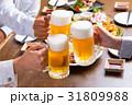 乾杯 ビール 生ビールの写真 31809988