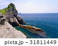 断崖 海 岩の写真 31811449