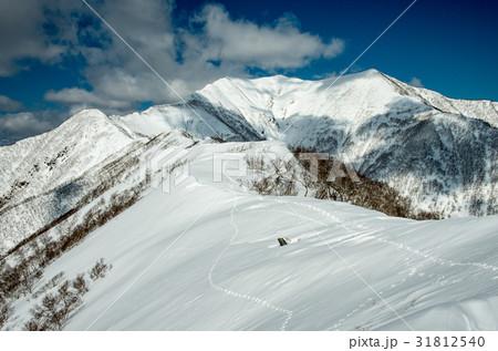 冬の日高連峰 トヨニ岳 31812540
