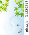 金魚 背景 水面のイラスト 31829218