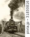エスエル 蒸気機関車 電車の写真 31830816