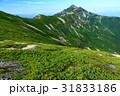 笠ヶ岳 山 稜線の写真 31833186
