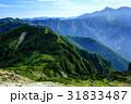 山 稜線 夏山の写真 31833487