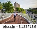 自転車 バイク 小道の写真 31837136