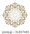 柄 花柄 オーナメントのイラスト 31837465