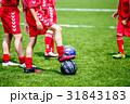 少年サッカーの練習風景 31843183