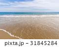 砂浜 青空 雲 海岸 恋路ヶ浜 [愛知県] 31845284