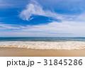 砂浜 青空 雲 海岸 恋路ヶ浜 [愛知県] 31845286