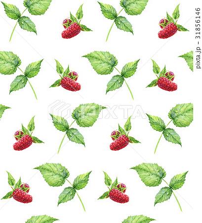 Seamless pattern Watercolor realistic illustrationのイラスト素材 [31856146] - PIXTA