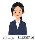 紺のスーツを着た女性 31856719