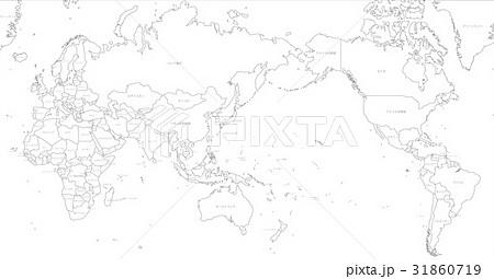 世界の国々白名称 31860719