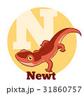 ABC Cartoon Newt 31860757