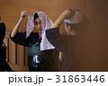 剣道ガール 手ぬぐい 準備 31863446