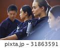 剣道を体験する女子留学生 31863591