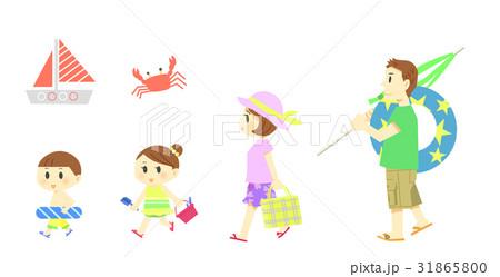 海水浴(人物) 31865800