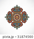 柄 花柄 バックグラウンドのイラスト 31874560