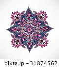花柄 柄 装飾のイラスト 31874562