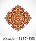 花柄 柄 装飾のイラスト 31874563