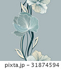 Floral seamless background Flower bouquet greeting 31874594