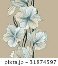Floral seamless background Flower bouquet Greeting 31874597