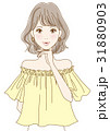 若い女性(イエロー) 31880903