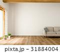 リビング 白い ソファのイラスト 31884004