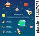 宇宙船 ソーラー 太陽のイラスト 31887078