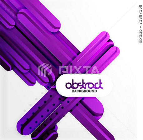 Straight lines backgroundのイラスト素材 [31887108] - PIXTA