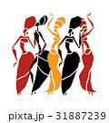 ダンス 舞う 舞踊のイラスト 31887239