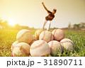 選手 ボール 玉の写真 31890711