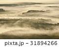 霧 幻想的 朝霧の写真 31894266