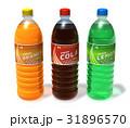 Set of refreshing drinks in plastic bottles 31896570