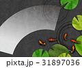 金魚【和風背景・シリーズ】 31897036