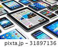 スマートフォン モバイル タブレットのイラスト 31897136