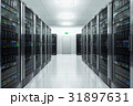 Server room in datacenter 31897631