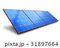ソーラー 太陽 バッテリーのイラスト 31897664