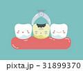 クリーニング 手術 歯のイラスト 31899370