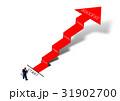 矢印 階段 成功のイラスト 31902700