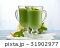 Spinach smoothie  with mint. 31902977