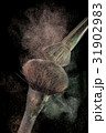 Powderbrushes  and powder splash. 31902983