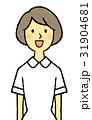 若い看護婦 笑顔 31904681