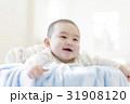 人物 女の子 赤ちゃんの写真 31908120