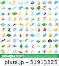 100 100 アクアのイラスト 31913225