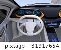 EV コンセプト 運転席のイラスト 31917654