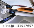 EV 自動運転 インパネのイラスト 31917657